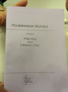 Housekeeper Wanted Programme